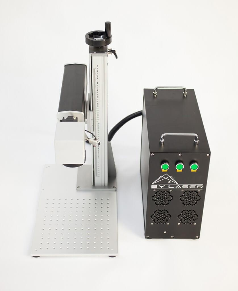 BY Lazer BYF Taşınabilir Fiber Markalama Makinesi