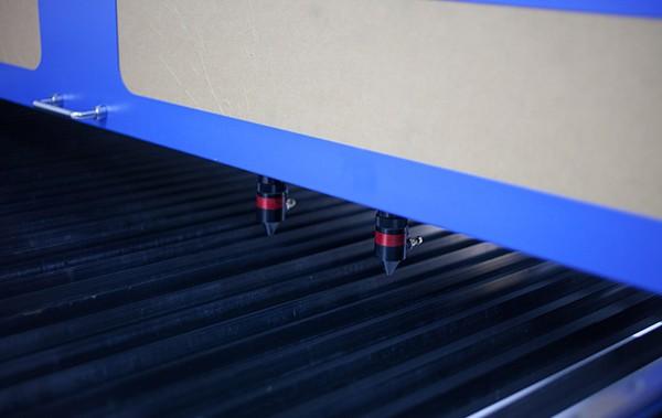 fby3015 yatak tipi çift kafa lazer kesim makinesi