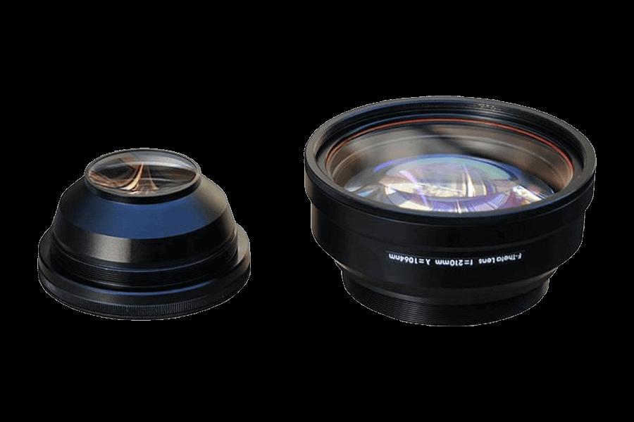 150mm x 150mm Fiber Lazer F-Theta Tarama Lensi