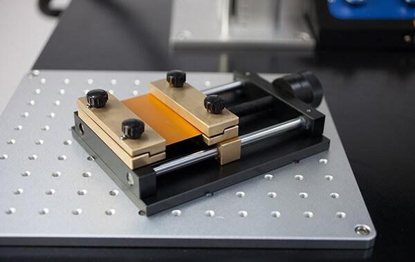 mengene eklenebilir lazer kesim makinesi