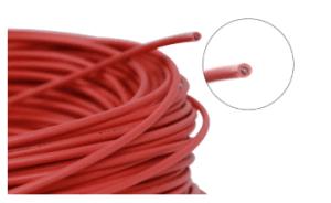 Soketli Yüksek Voltaj Kablosu