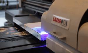 UV Printer ile Cam Üzerine Fotoğraf Baskı