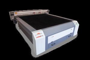 Full Servo Sistem Flatbed Lazer Kesim Makinesi Çift Kafa