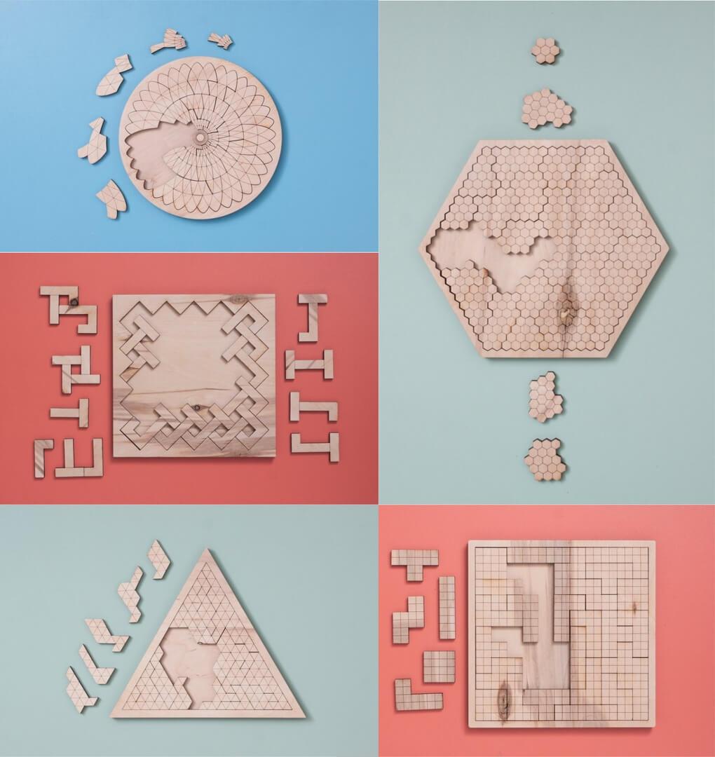 Ahşap Puzzle Çeşitleri