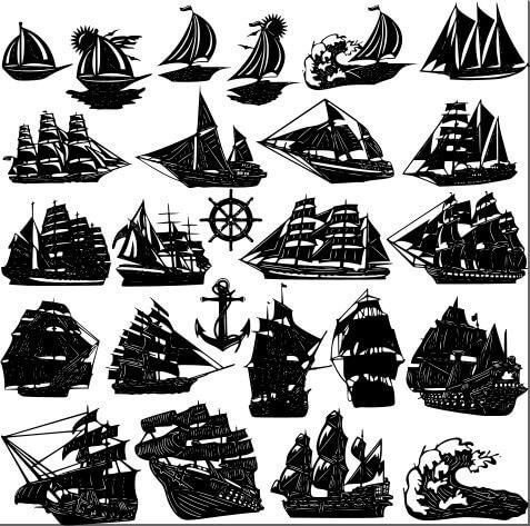 Deniz ve Gemi Motifleri
