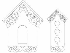Kuş Evi – Yuvası Çizimleri