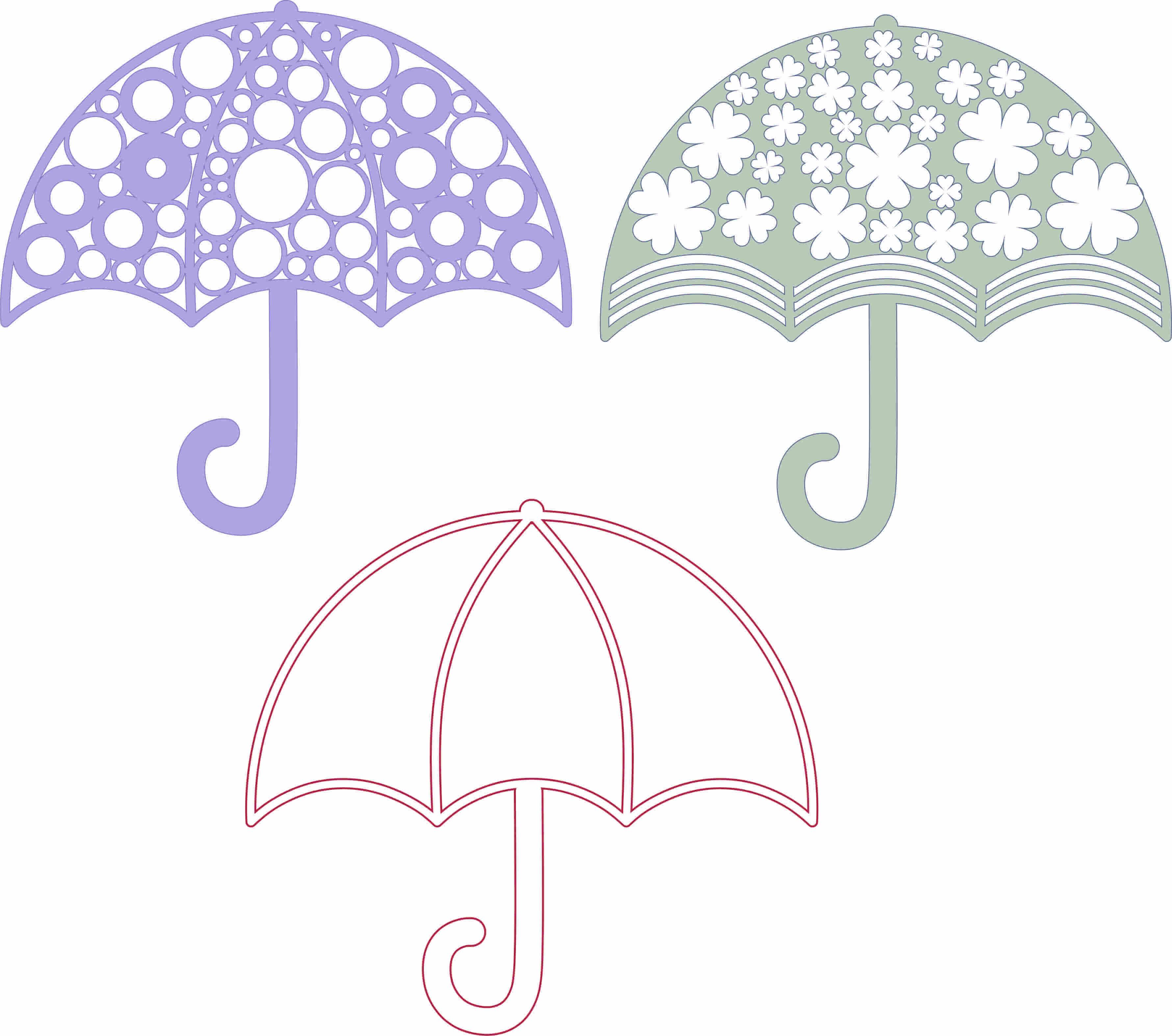Şemsiye Çizimleri